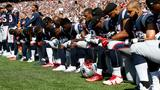 NFL players make league-wide demonstrations during national anthem after Trump comments