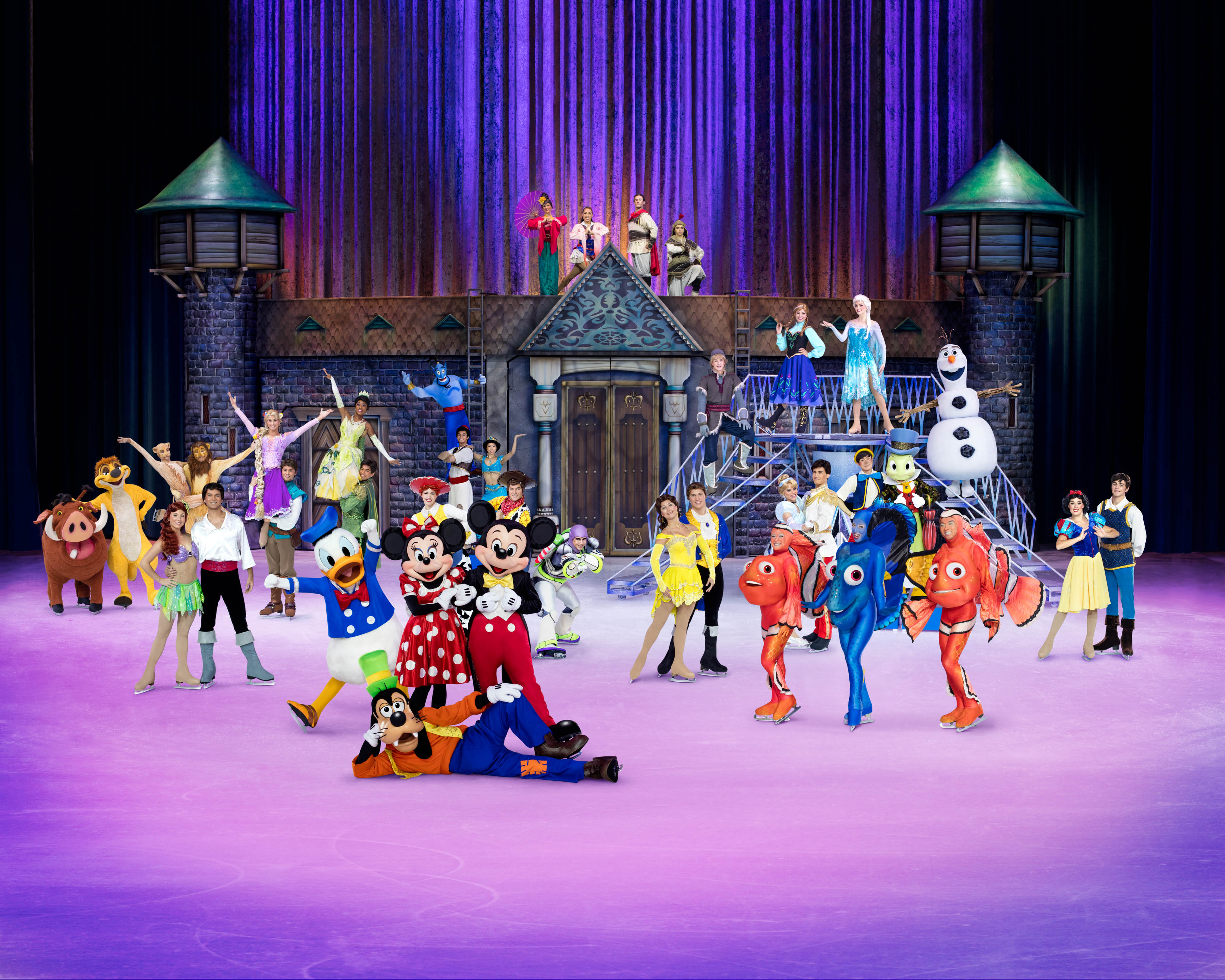 Disney on Ice 100 Years of Magic (Photo courtesy of PMI Entertainment)