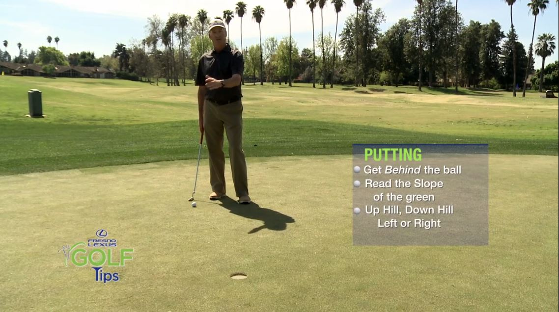 Things to consider before taking your putt