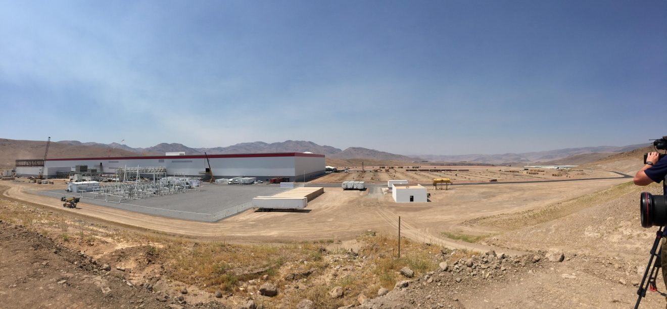 FILE - The Tesla Gigafactory in Storey County, Nev. (Sinclair Broadcast Group)