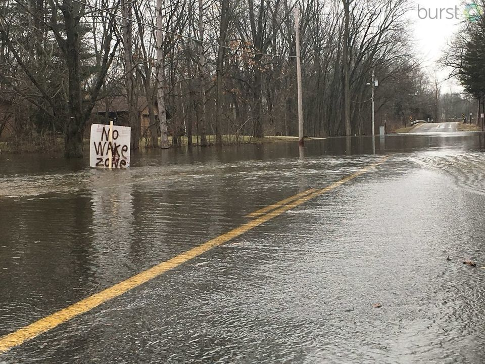 Areas of West Michigan are being affected by historical flooding that have called for evacuations, ambulance re-directions and more. Residents have been submitting their view via our Burst application throughout the weekend. This is some of the best of the worst that we've received from our viewers.
