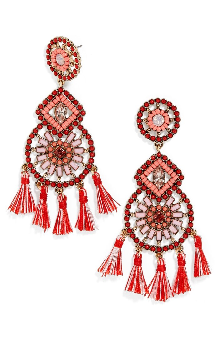 Baublebar Noelani Drop Earrings ($34). It's time to celebrate Momma.  Here is our Nordie's gift guide for items under $50! (Image: Nordstrom)