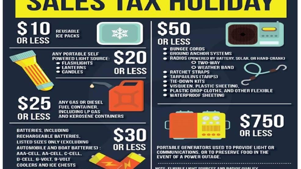 Hurricane season, tax free holiday starts Friday | WPEC