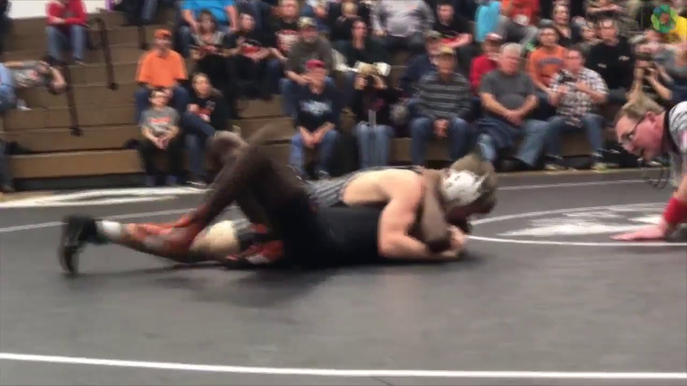 12.21.17 Highlights - Carrollton tops Marlington in NBC wrestling dual