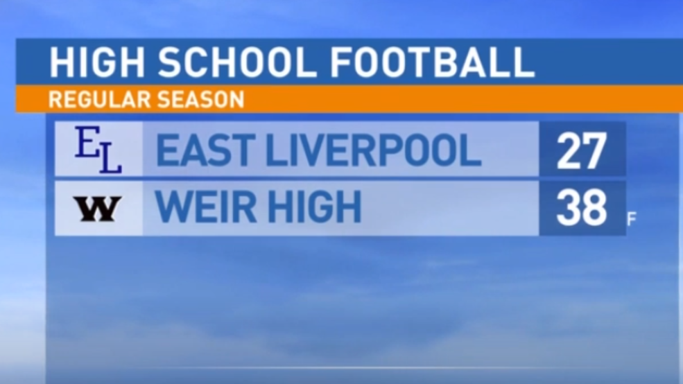 10.25.19: East Liverpool at Weir