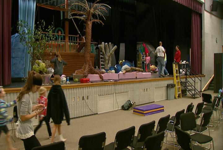The Denmark High School production of The Little Mermaid runs for two weekends, starting Friday, November 3rd, 2017 (Photo Courtesy WLUK)<p></p>