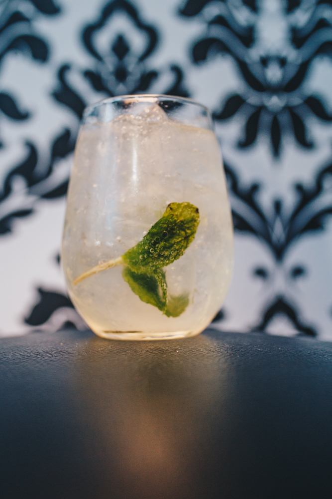 Deneuve: Miller's Gin, Chartreuse, simple syrup, fresh juice, topped with soda / Image: Catherine Viox // Published: 4.15.19
