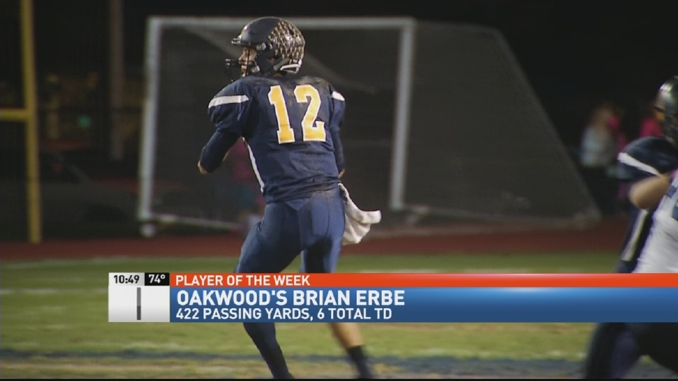 Donatos POTW - Week 8: Oakwood's Brian Erbe and Brookville's Bailey Wallen