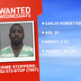 Wanted Wednesdays:  Alachua County man accused of strangling pregnant girlfriend