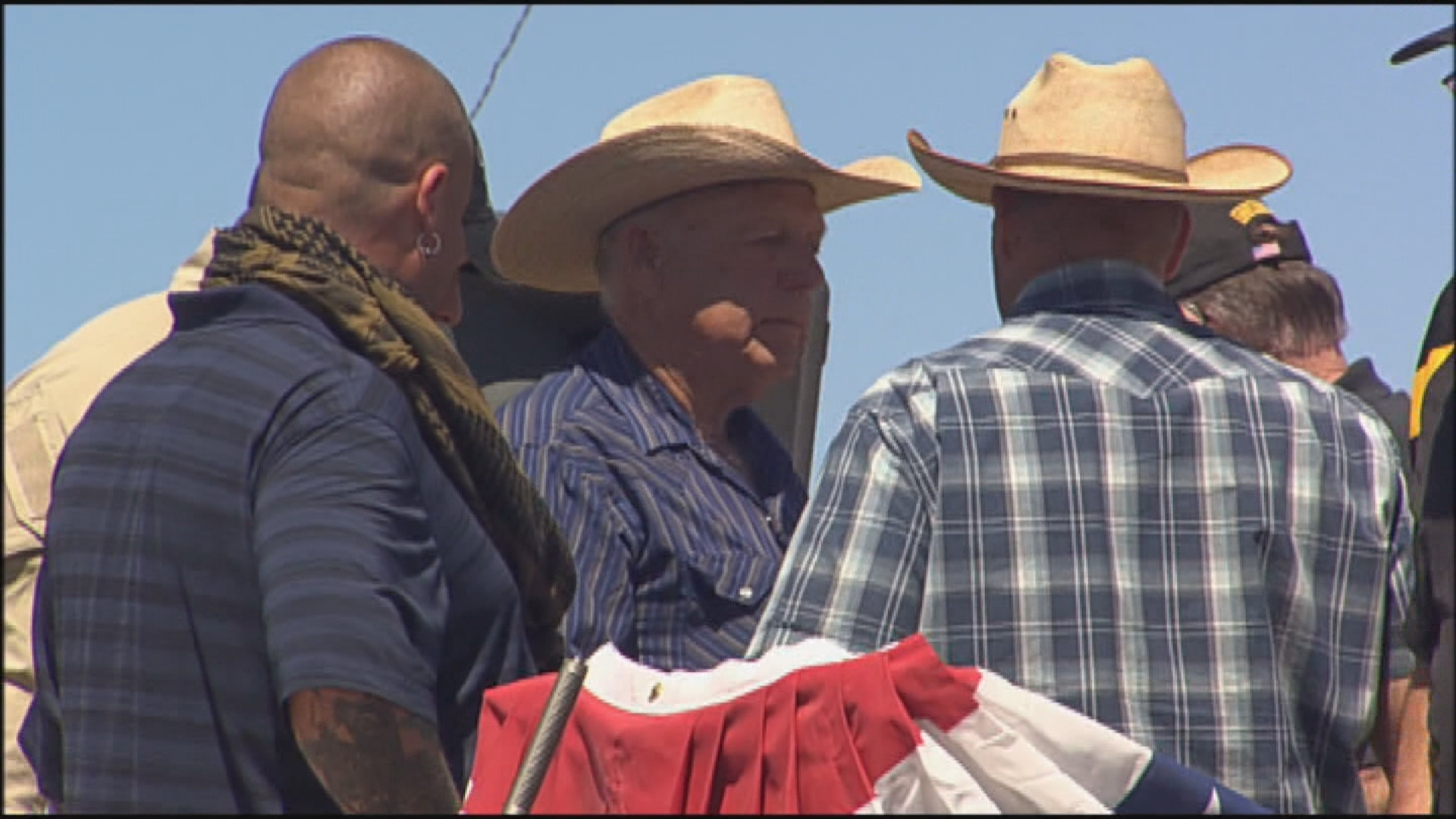 Could the mass shooting on the Las Vegas Strip affect the high-profile Bundy case? That's the question as the trial for rancher Cliven Bundy and his sons Ryan and Ammon is set to begin Monday morning. (KSNV file photo)