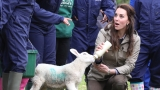 Kate Middleton ditches the city to visit working farm