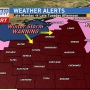 Winter storm ALERTS for late Monday into Tuesday