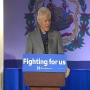 President Bill Clinton campaigns for Hillary at Capitol