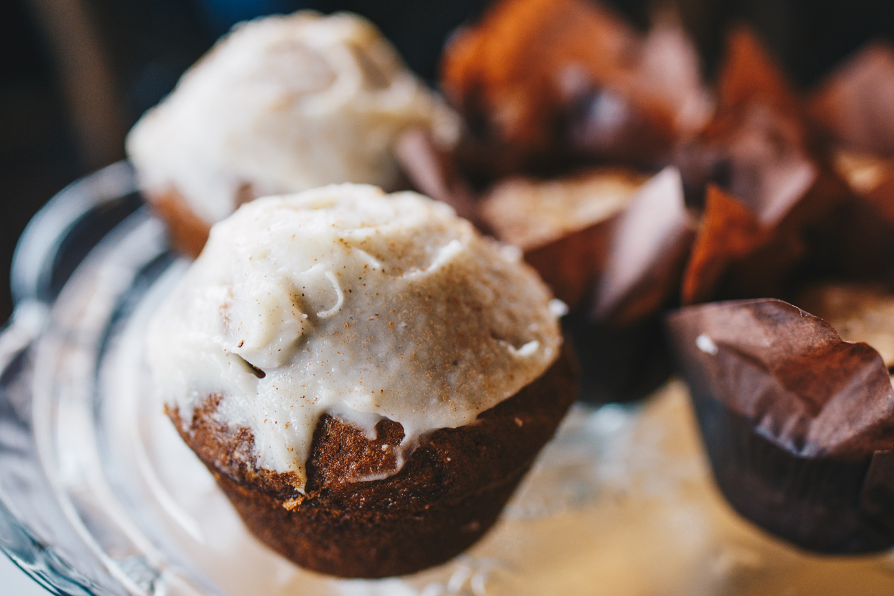 Pumpkin and banana chocolate muffins / Image: Catherine Viox // Published: 11.15.18