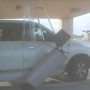 Truck runs into credit union causing thousands in damage