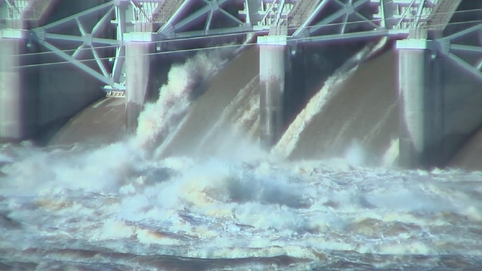 Flooding Possible From Near Record Water Release Ktul