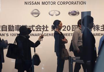 Nissan governance steps, board win shareholders' approval