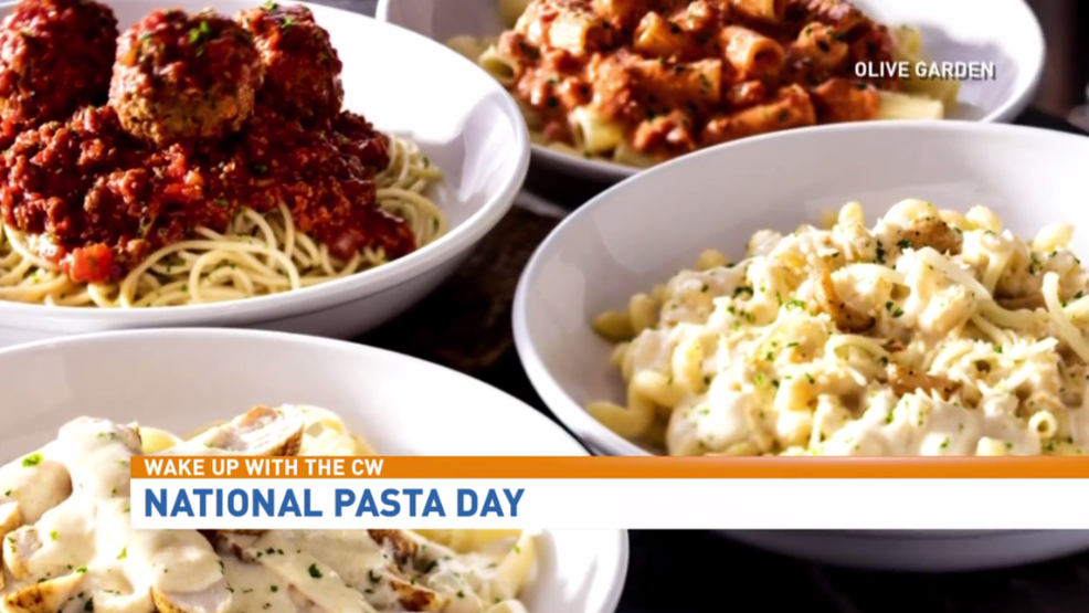 Celebrate national pasta day on tuesday with olive garden ksnv for Olive garden national pasta day