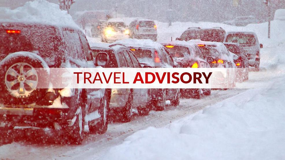 Travel advisory issued for Wayne County, motorists encouraged to stay off roads tonight