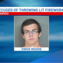 Anamosa man arrested after throwing lit fireworks at Walmart