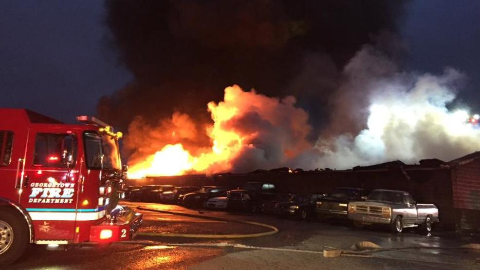 The Fire Happened At JLS Mini Storage On Maple Grove Road In Georgetown.