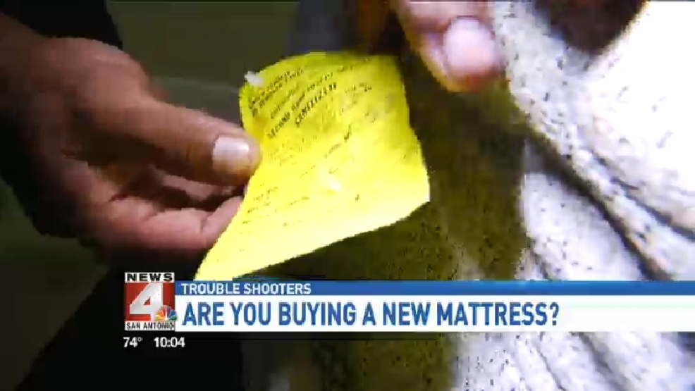 Undercover Investigation: Used mattresses sold as new