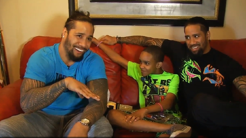 "WWE Superstars Give ""SmackDown Surprise"" To Local Child"