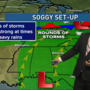 Jim Caldwell's Forecast | A soggy stretch starts today