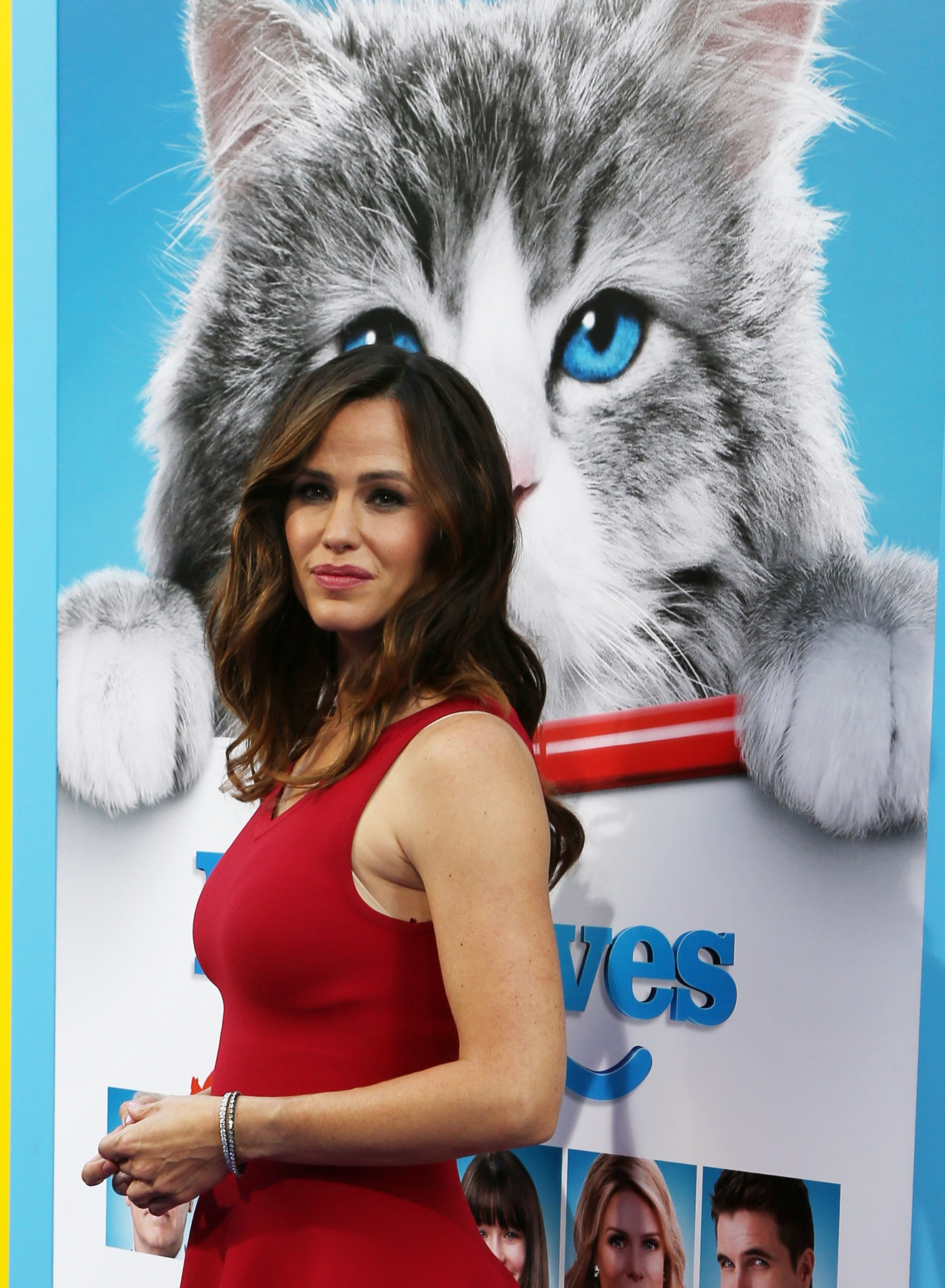 "Jennifer Garner attends the premiere of ""Nine Lives""( FayesVision/WENN.com)"