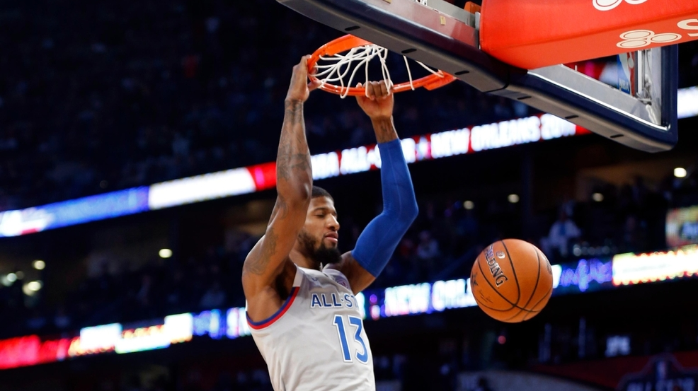 Paul George gets traded to the Thunder   KOKH