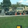 Arkansas National Guard soldiers taken to hospital after accident