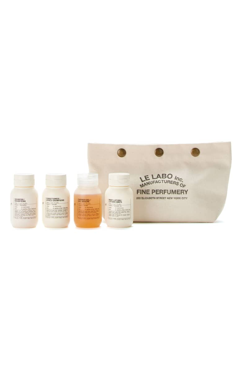 Le Labo Body & Hair Travel Set, $55.{ }Ballin' on a budget this season? Nordstrom found priceless gifts all under $100. You're welcome! (Image courtesy of Nordstrom).