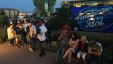 Hopefuls line up for American Idol auditions at Guthrie Green