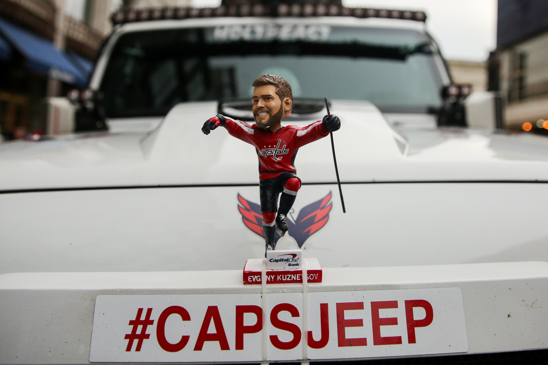 The Washington Capitals are facing off against the Carolina Hurricanes at home for the first game of the playoffs on April 11. Fans are hoping for back-to-back Stanley Cup victories, but they're in for long ride - NHL playoffs typically last until mid to late June. (Amanda Andrade-Rhoades/DC Refined)