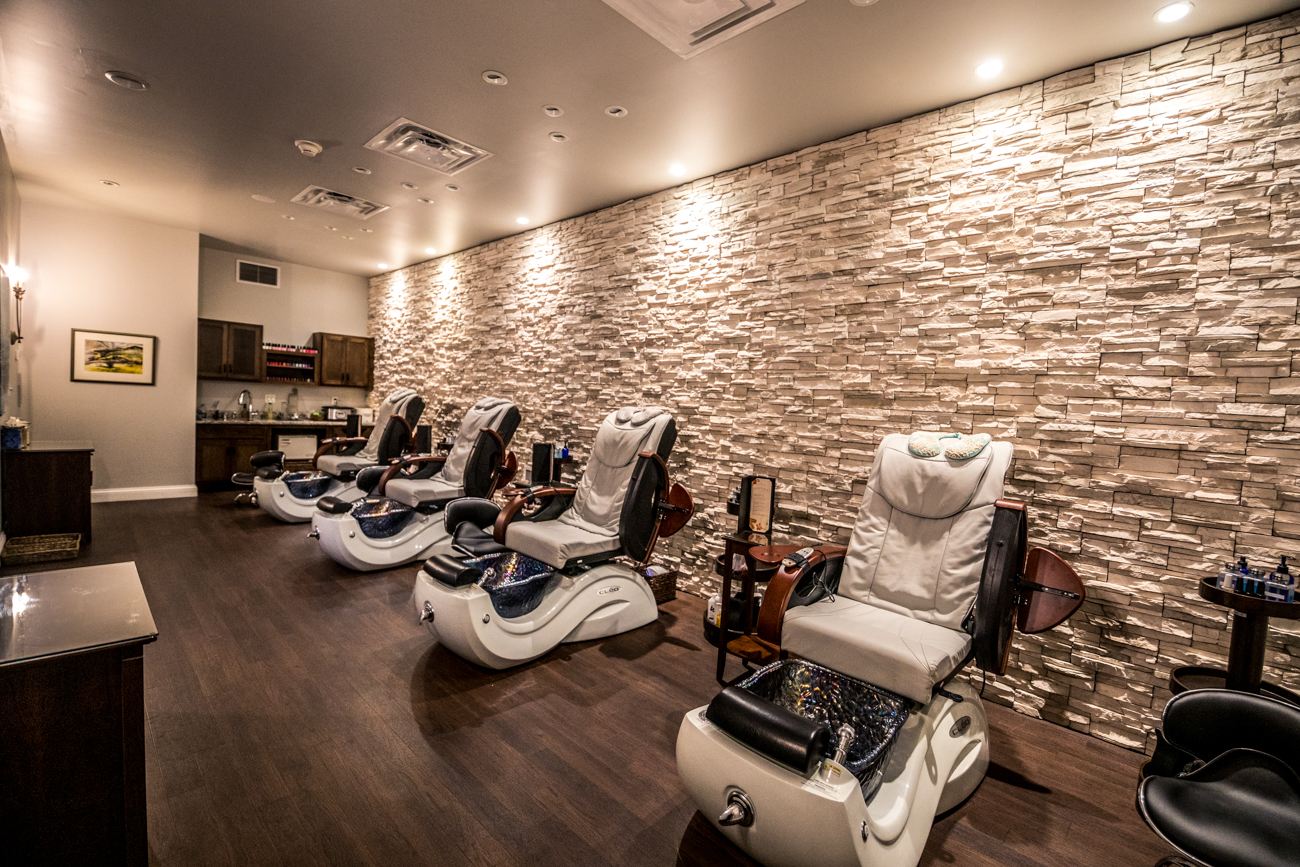 The Nail Suite offers various hand and foot treatments, including manicures and pedicures on natural nails. / Image: Catherine Viox // Published: 12.16.19