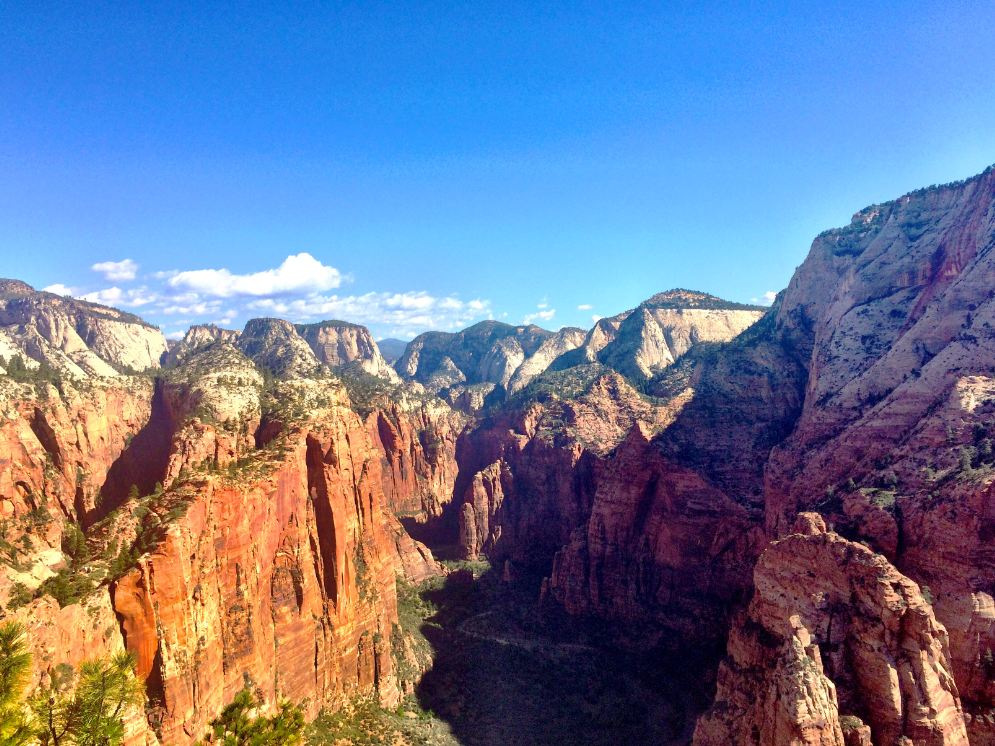 2 men die in Zion National Park Wednesday (File photo: Mary Blanchard)