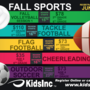 Kids Incorporated Fall Sports; Now Registering