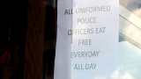 Local KFC restaurants giving free meals to law enforcement personnel