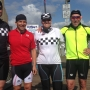 British police officers bicycling down west coast make stop in Coos Bay
