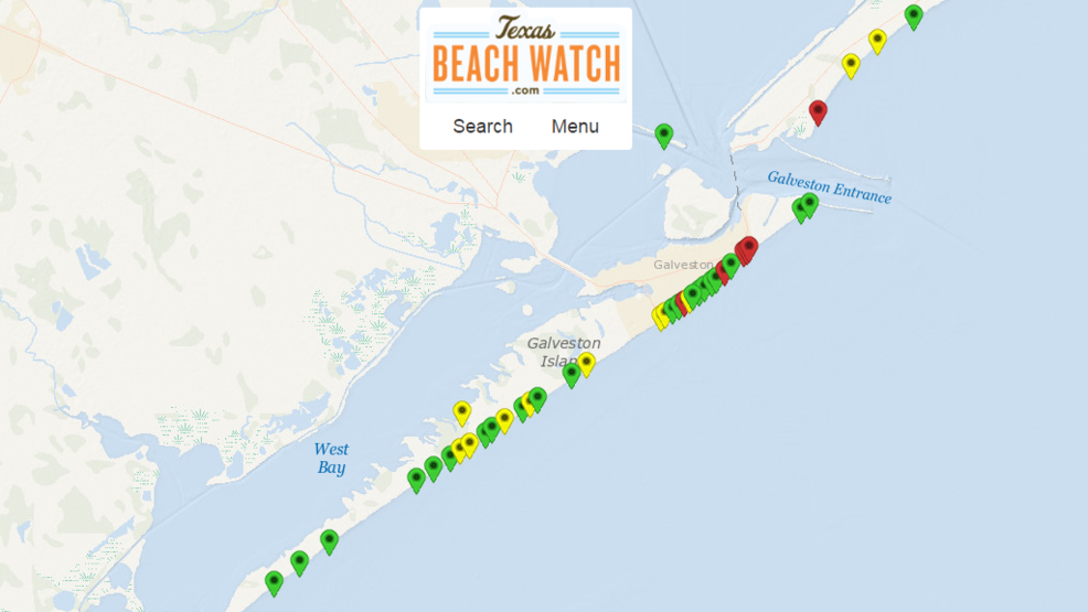 High levels of fecal bacteria reported in Galveston bay area