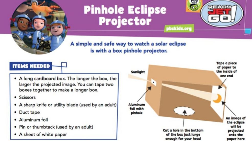 Make your own solar eclipse sunglasses | WTVX