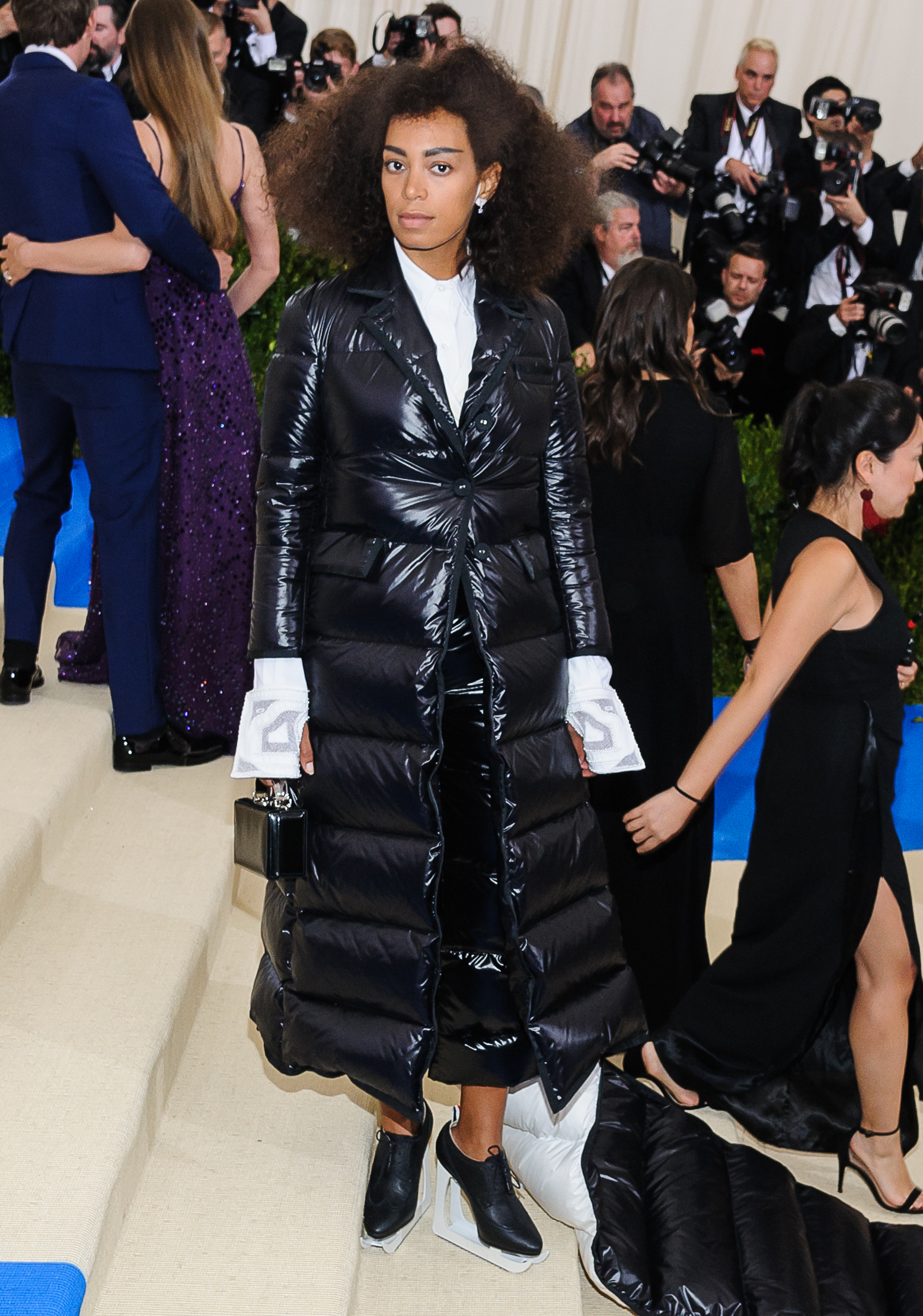 The Met Gala 2017 - Arrivals                                    Featuring: Solange Knowles                  Where: New York, New York, United States                  When: 01 May 2017                  Credit: WENN.com