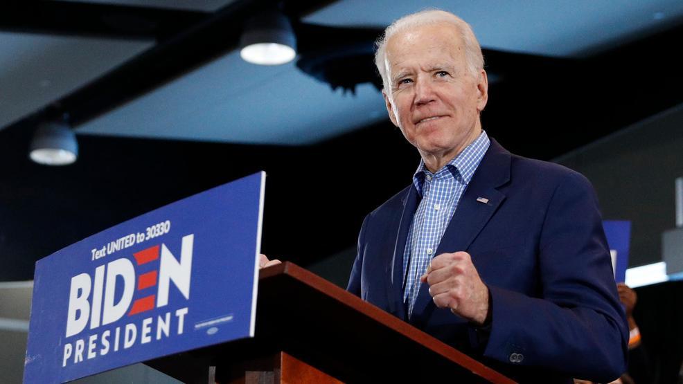 Joe Biden declares himself back in the race