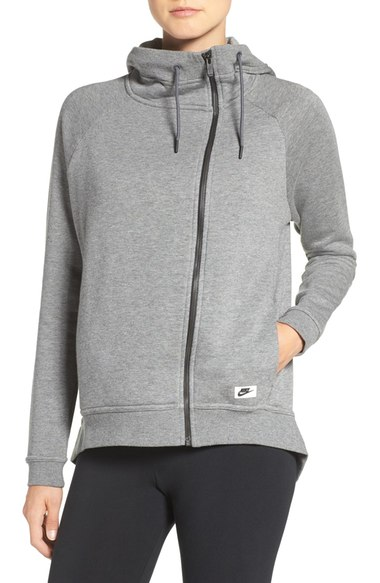 Nike 'Modern' Double Breasted Hoodie $60. Available at select Nordstrom stores and nordstrom.com. (Photo: Nordstrom)