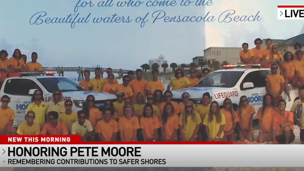Pete Moore Vw >> Late Pete Moore Honored For Contribution To Water Safety