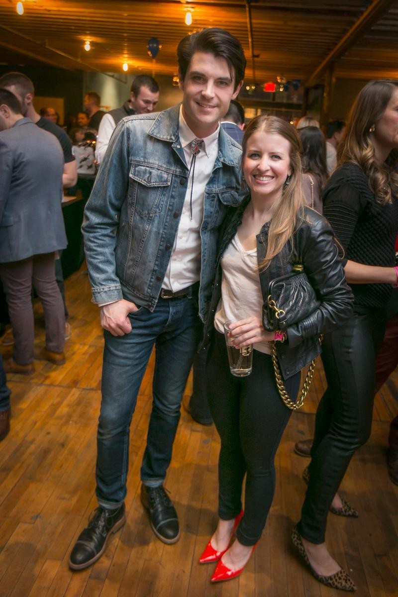 People: Christopher Kubik and Megan Selnick / Event: Starfire's Final Four Flyaway (3.18.17) / Image: Mike Bresnen Photography // Published: 4.3.17