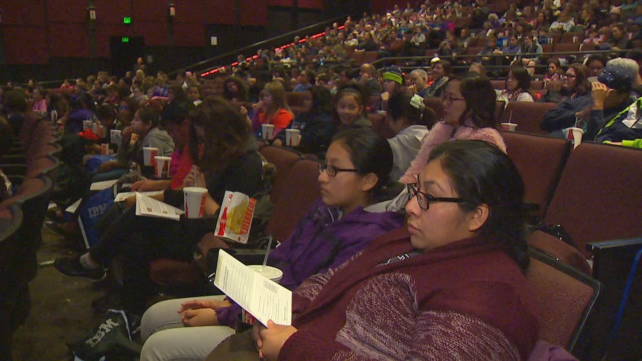 Hidden Figures Inspires Nearly 200 Girls In Seattle To