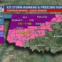 Ice Storm Warning issued as Oklahoma prepares for potential storm