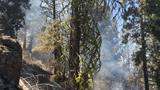 Fire crews work on battling blaze in rural Klamath County