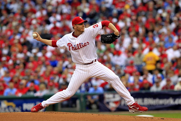Halladay led the majors in wins, shutouts, and complete games from 2002-'11.